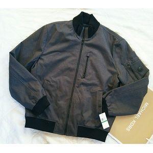 •Michael Kors• charcoal Heather grey jacket